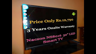 Nacson NS8016 32 quot LED Android Smart TV
