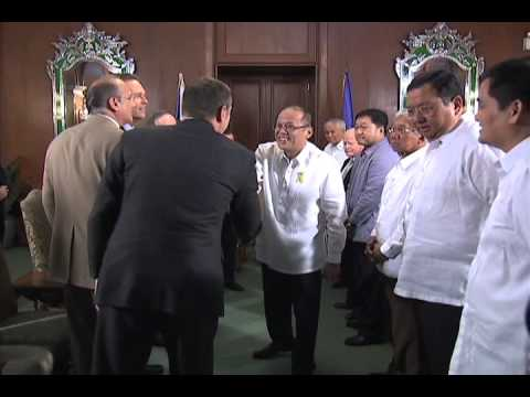 Courtesy Call of the US Congressional Delegation 01/30/2013