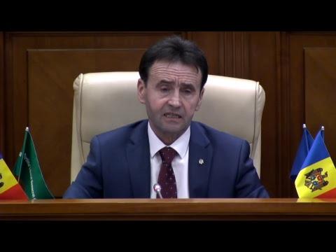 Şedinţa Parlamentului Republicii Moldova 16.03.2018