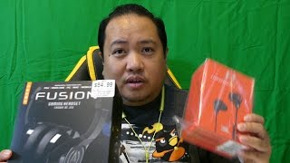 Unboxing the JBL Under Armour Wireless Headphones and the Fusion Gaming Headset
