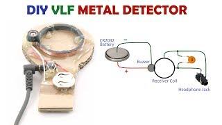 How to Make a Simple DIY VLF IB Metal Detector at Home