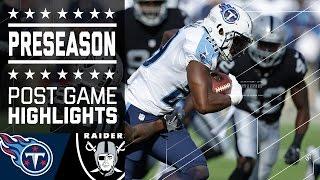 Titans vs. Raiders | Game Highlights | NFL