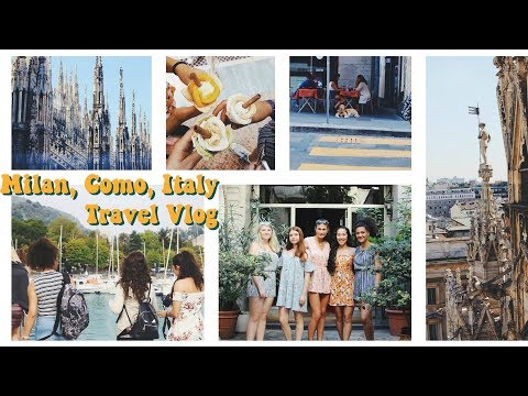 what to do in Milan, Italy travel vlog