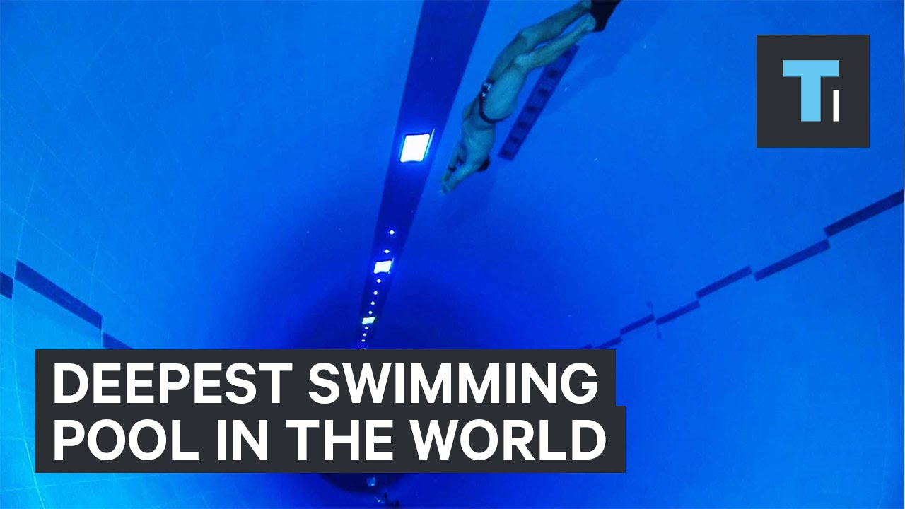 Deepest Swimming Pool In The World Youtube