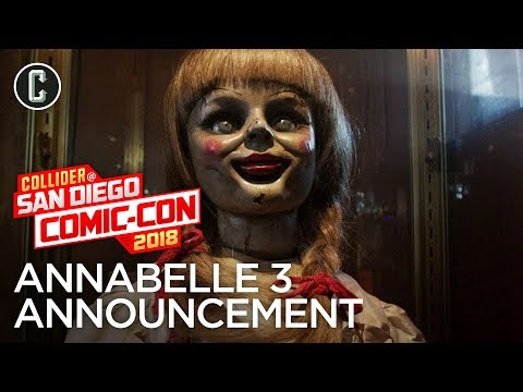 Annabelle 3 Announcement: The Warrens to Return - SDCC 2018 Mp3