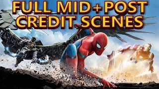Spider-Man Homecoming Full Mid And Post Credits Scenes Explained Breakdown And Setup