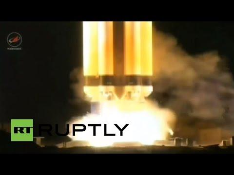 LIVE: Proton M launches Express AMU1 communications satellite