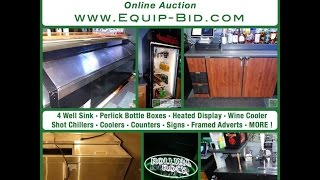 Huge Bar & Night Club Auction - Equip-bid.com