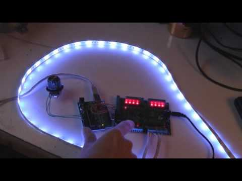 ikea dioder arduino control with 16x pwm led fader board youtube. Black Bedroom Furniture Sets. Home Design Ideas