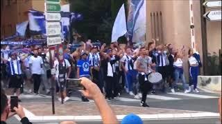 vuclip Ultras FC Porto on tour Monaco   AS Monaco 0-3 FC Porto   2017