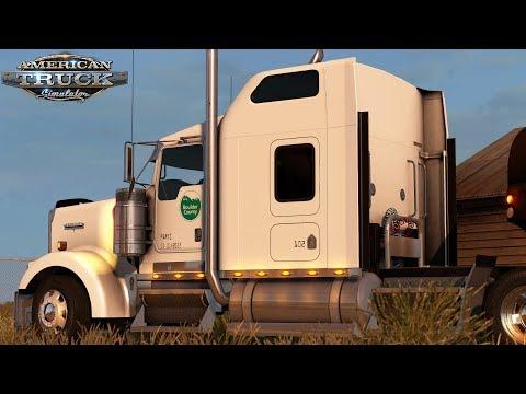 American Truck Simulator: Boulder County Parks - Denver To Kit Carson Colorado