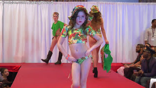 Repeat youtube video Children's Swimwear Fashion Show