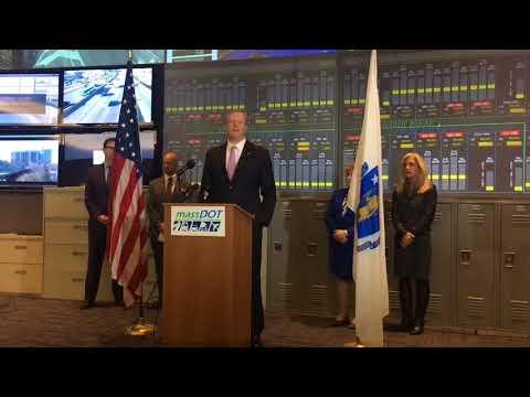 Massachusetts Gov. Charlie Baker backs hands-free driving device bill