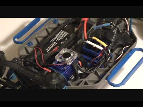 How to install a sensored brushless system into a traxx for Velineon 3500 brushless motor rebuild kit
