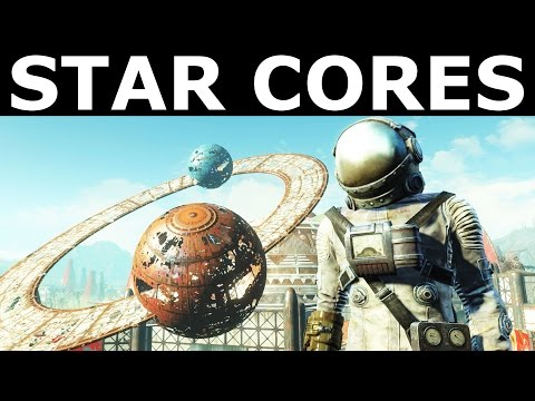 """Fallout 4 Nuka World - Find All Star Cores In Galactic Zone - """"Star Control"""" Quest"""