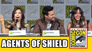 AGENTS OF SHIELD Comic Con Panel 2015
