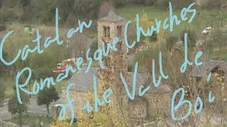 1分世界遺産 162 バル・デ・ボイのカタルーニャ風ロマネスク様式聖堂群 スペイン㊱