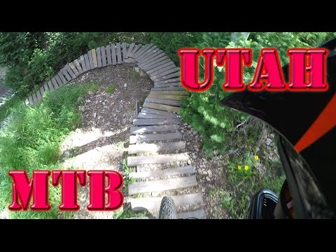 Mountain Biking Utah - Deer Valley and the Canyons Summer 2015 (60 FPS)
