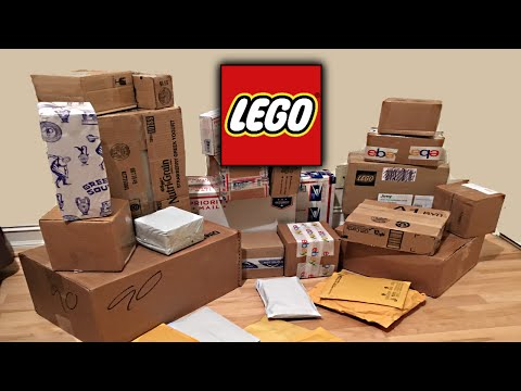 Big LEGO Mystery Haul and Unboxing! 30+ Sets!