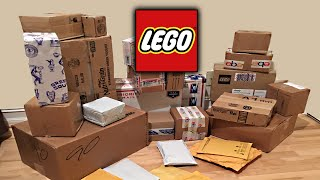 Biggest LEGO Mystery Haul and Unboxing EVER! 30+ Sets!