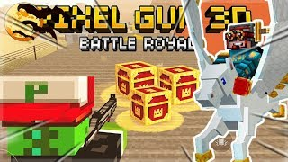 HALLOWEEN UPDATE IS HERE!! DESTROYING EVERYONE IN BATTLE ROYALE   Pixel Gun 3D