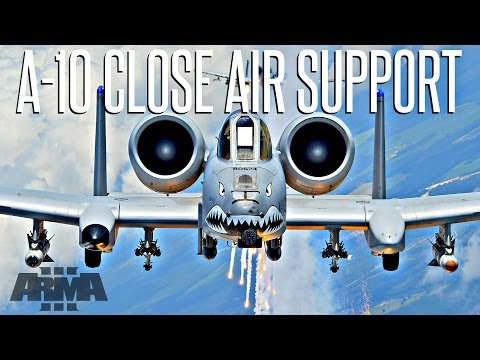 A-10 Close Air Support Mission - ArmA 3 Patrol Operations