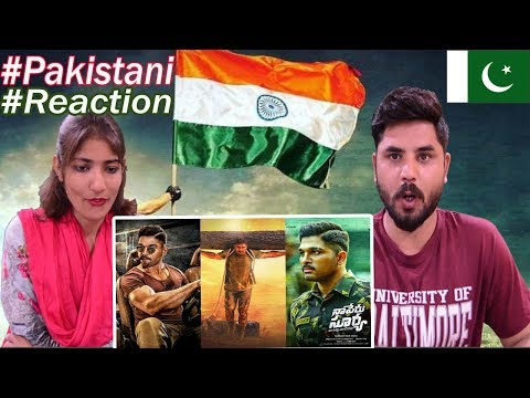Pakistani Reacts To | Naa Peru Surya Naa...