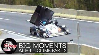 BIG MOMENTS at Hill Climb | nearly crashed PART 2