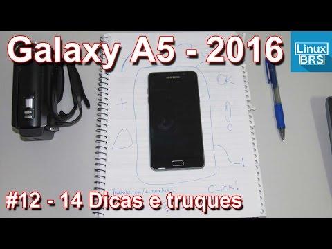Samsung Galaxy A5 2016 - 14 Dicas, truques e curiosidades - Português