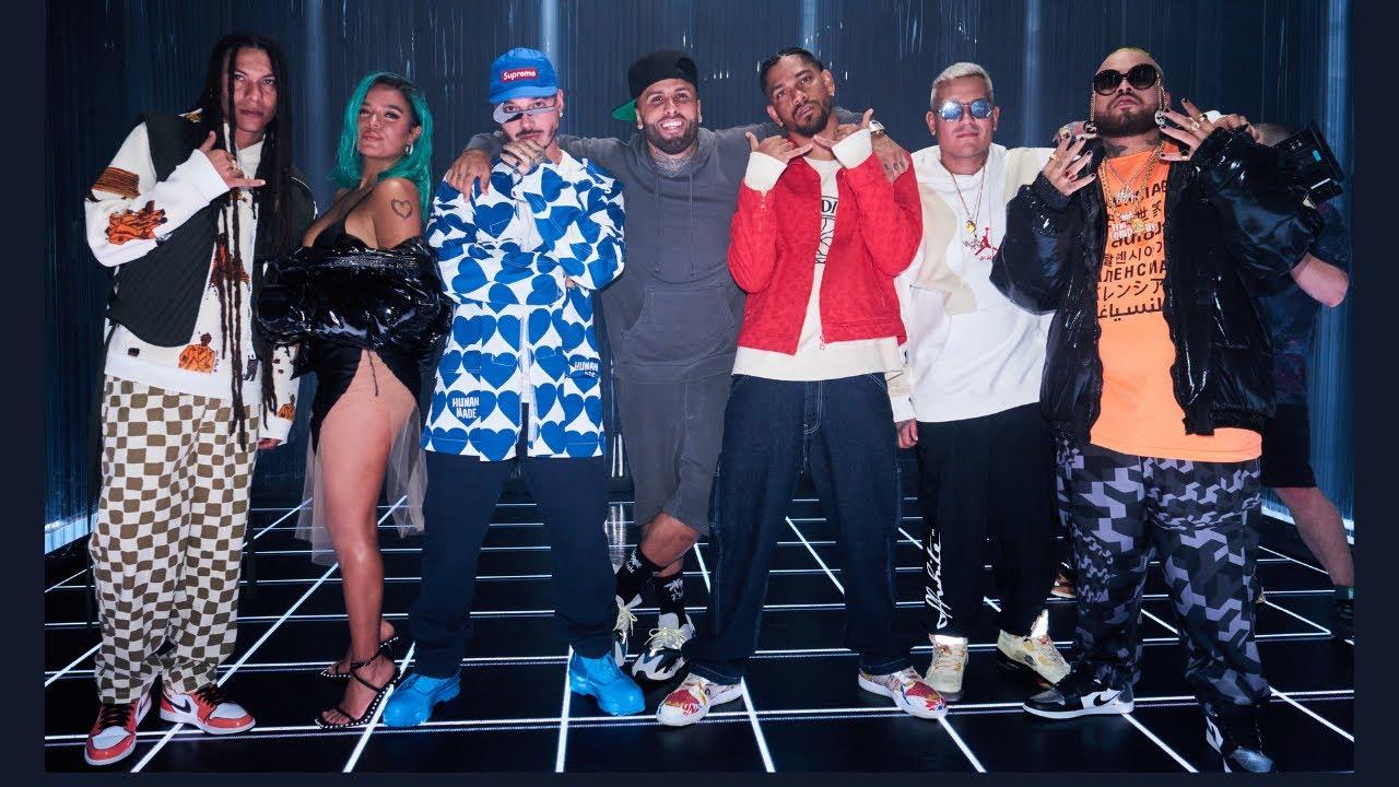 J. Balvin, KAROL G, Nicky Jam Feat. Crissin, Totoy El Frio, Natan & Shander/ Poblado (Remix) TRAILER