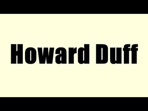 Howard Duff