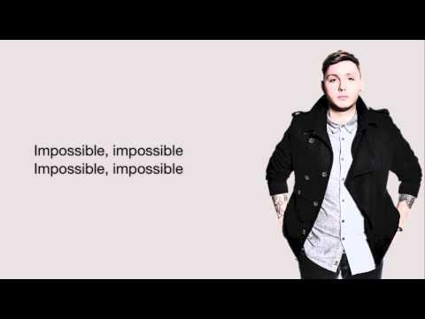 James Arthur impossible karaoke