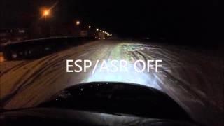 audi a3 3 2 v6 vr6 quattro esp test on snow