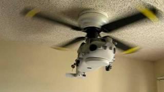 Sea Hawk Helicopter Ceiling Fan