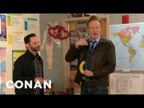 Conan & Nick Kroll Teach A Sex Ed Class