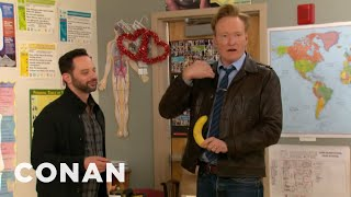 Download Video Conan & Nick Kroll Teach A Sex Ed Class MP3 3GP MP4