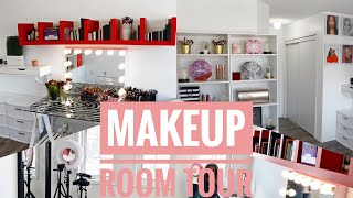 MAKEUP/BEAUTY ROOM TOUR    Youtube Filming Set Up