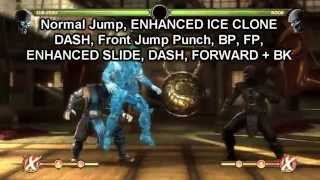 Mortal Kombat Komplete Edition: BASIC COMBOS: Sub-Zero (PC)