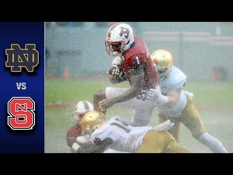 Notre Dame vs. NC State Football Highlights (2016)