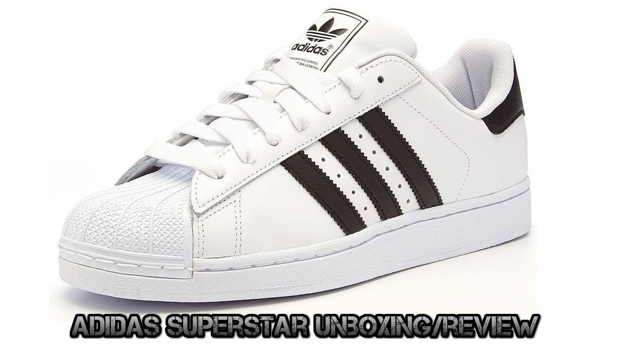 df176dd1dda040 Adidas superstar II (unboxing review) - YouTube