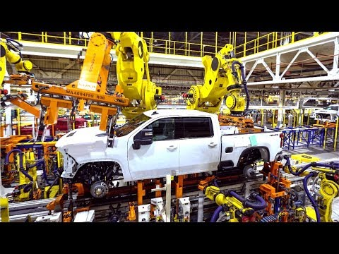 2020 Chevrolet Silverado Production  Heavy-Duty Trucks