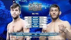 CAGE43Co-Main Event: Aleksi Toivonen vs Salambek Damaev