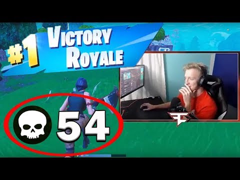 54 KILLS in Fortnite Squads *NEW WORLD RECORD*