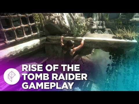 Новый геймплейный ролик игры Rise of the Tomb Raider перенес Лару Крофт в сирийскую гробницу