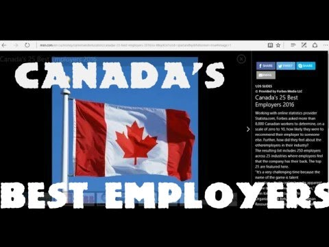 VEDA #10 - Canada's 25 best employers 2016