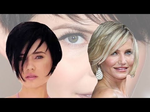20 Fantastic Short Haircuts For Women With Round Face And Thin Hair Ombre Short Hairstyles 2018 Youtube