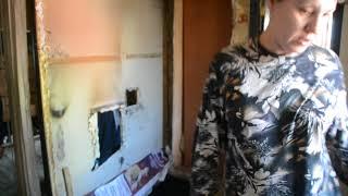 Обрушилась стена частного дома с печкой из-за подтопления в Бердске