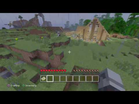 Minecraft penis monument and destruction!