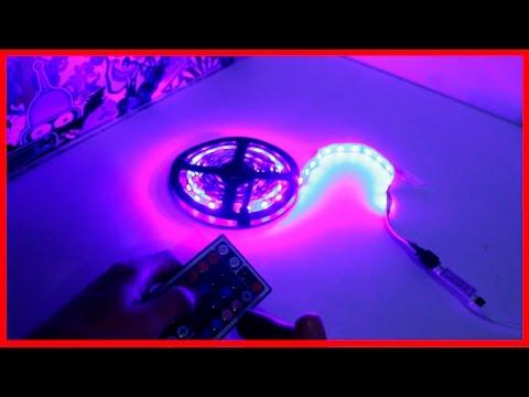Светодиодная RGB лента из Китая - Светодиодная лента подключение!