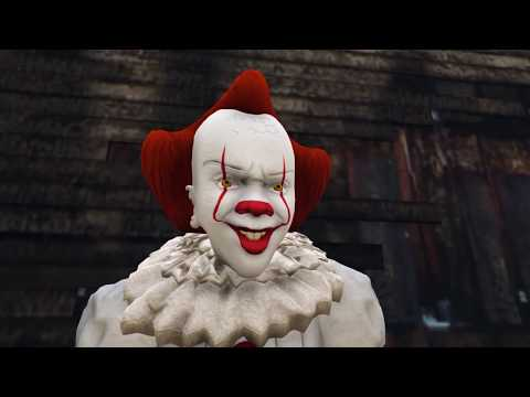 We All Float Down Here  - IT 2017 In Gta 5